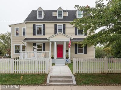 Washington Single Family Home For Sale: 1358 Ingraham Street NW