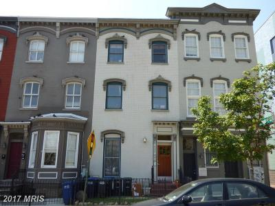 Logan, Logan Circle, U Street/Logan Townhouse For Sale: 922 N Street NW #101