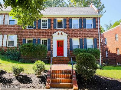 Washington Condo For Sale: 2650 39th Street NW #4