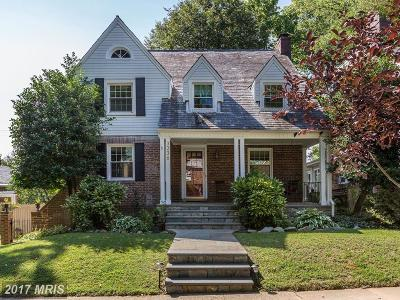Chevy Chase Single Family Home For Sale: 3236 Livingston Street NW