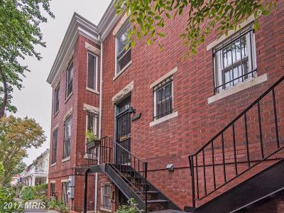 Mount Pleasant Multi Family Home For Sale: 2303 17th Street NW