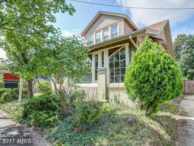 Washington Single Family Home For Sale: 6930 9th Street NW