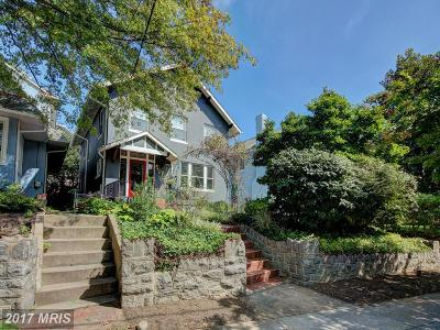Washington Single Family Home For Sale: 3309 Woodley Road NW