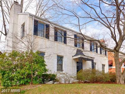 Washington Single Family Home For Sale: 8024 16th Street NW