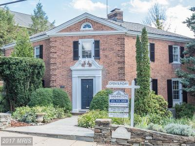 Washington Single Family Home For Sale: 4620 Charleston Terrace NW
