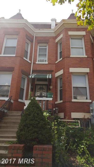 Washington Condo For Sale: 32 T Street NW