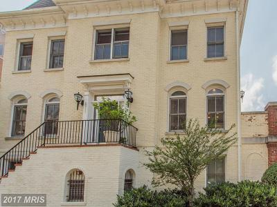 Chevy Chase Townhouse For Sale: 5312 43rd Street NW