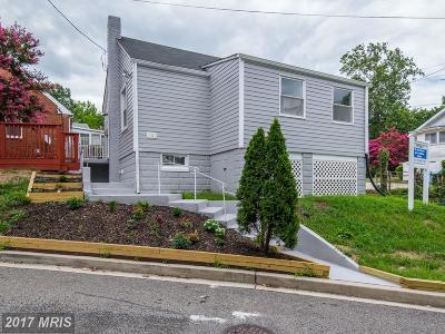 Washington Single Family Home For Sale: 1100 Anacostia Road SE