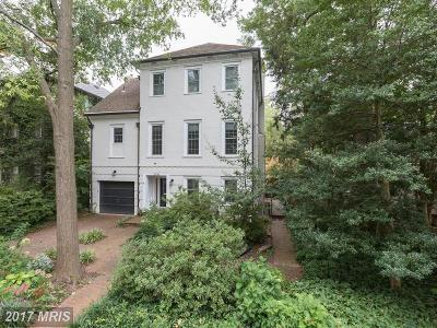 Washington DC Single Family Home For Sale: $1,999,000