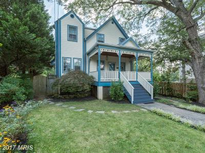 Washington Single Family Home For Sale: 4922 Ashby Street NW