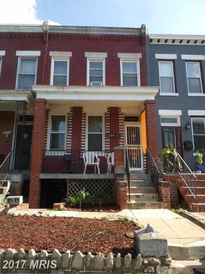 Washington Condo For Sale: 1509 A Street SE