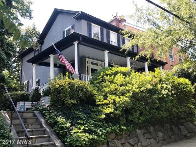 Washington Single Family Home For Sale: 2400 Tunlaw Road NW