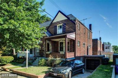 Brookland Single Family Home For Sale: 1347 Webster Street NE