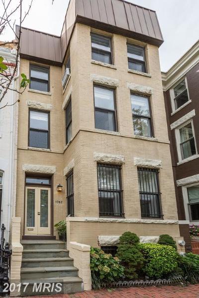 Washington Condo For Sale: 1762 Willard Street NW #1