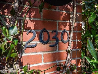 Washington Condo For Sale: 2030 Hillyer Place NW #2