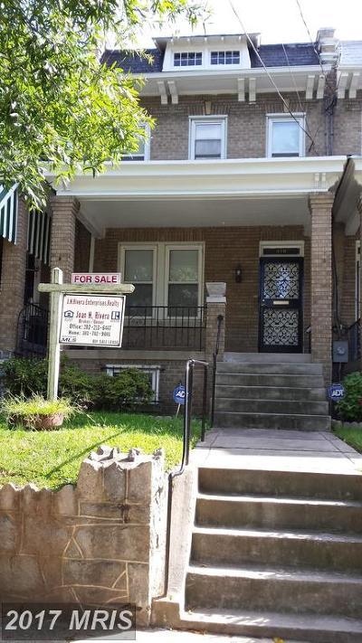 Washington Condo For Sale: 418 Hamilton Street NW
