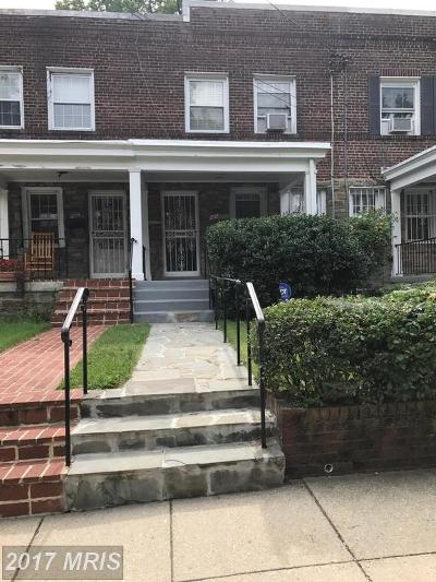 Petworth, Petworth/16th Street Heights, Petworth/Brightwood, Petwoth Townhouse For Sale: 436 Longfellow Street NW