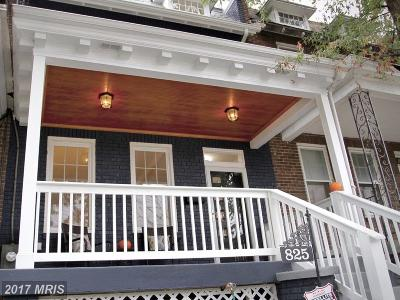 Petworth Condo For Sale: 825 Longfellow Street NW