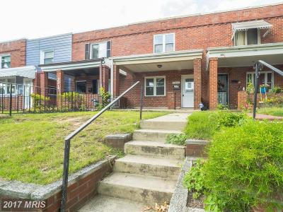 Washington DC Townhouse For Sale: $185,000