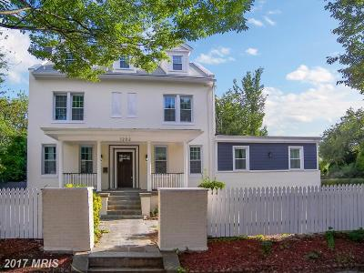 Washington Single Family Home For Sale: 1202 Decatur Street NW