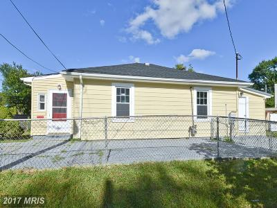 Hill Crest, Hill Crest, Hillcrest, Hill Crest/Hillcrest Single Family Home For Sale: 3006 Massachusetts Avenue SE