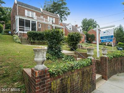 Washington Rental For Rent: 3417 Carpenter Street SE