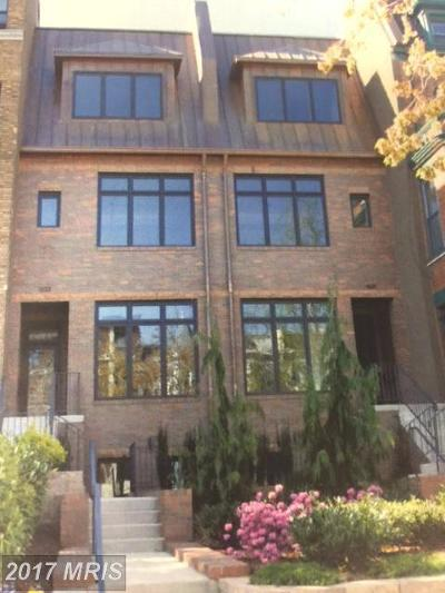 Columbia Heights Duplex For Sale: 1322 Fairmont Street NW #B
