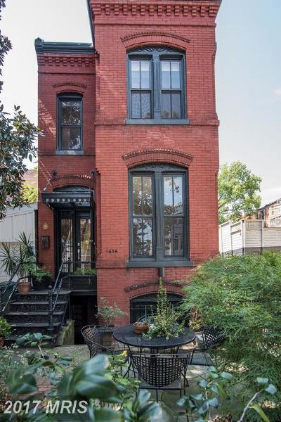 Logan, Logan Circle, U Street/Logan Townhouse For Sale: 1636 13th Street NW