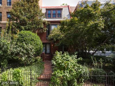 Washington DC Townhouse For Sale: $1,899,000