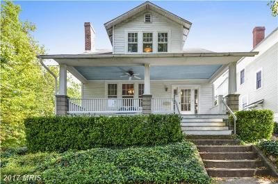 Washington Single Family Home For Sale: 5533 Hawthorne Place NW