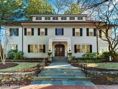 Single Family Home For Sale: 3512 Lowell Street NW