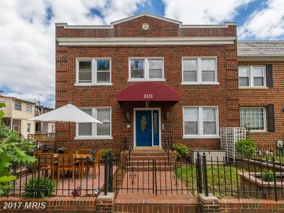 Washington Townhouse For Sale: 2507 Patricia Roberts Harris Place NE
