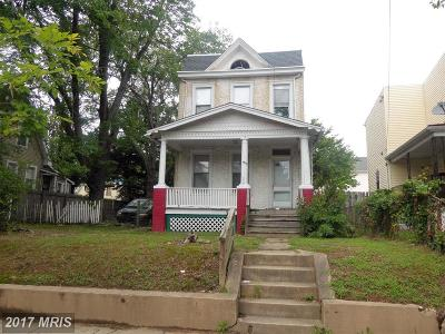 Washington Single Family Home For Sale: 910 Savannah Street SE