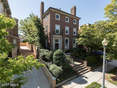 Washington DC Single Family Home For Sale: $5,750,000
