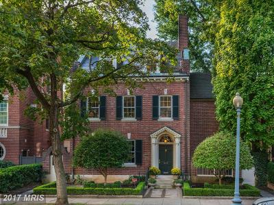 Kalorama Single Family Home For Sale: 1836 24th Street NW