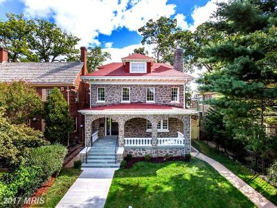 16th Street Heights Single Family Home For Sale: 5317 16th Street NW