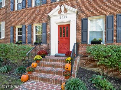 Washington Condo For Sale: 2650 39th Street NW #1