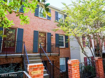 Washington Townhouse For Sale: 1616 Beekman Place NW #B