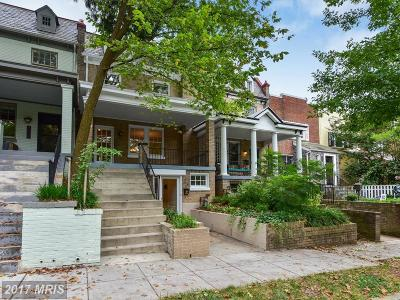Washington Townhouse For Sale: 1832 Irving Street NW