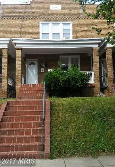Rental For Rent: 4909 Illinois Avenue NW