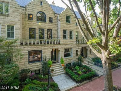 Washington DC Townhouse For Sale: $2,175,000