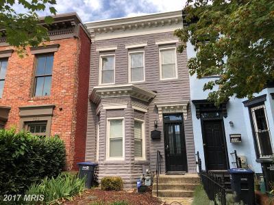 Washington Townhouse For Sale: 1121 S Street NW