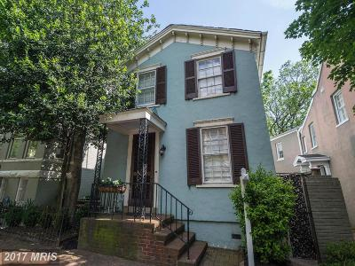 Single Family Home For Sale: 3134 Dumbarton Street NW
