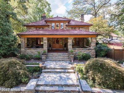 Washington DC Single Family Home For Sale: $3,950,000
