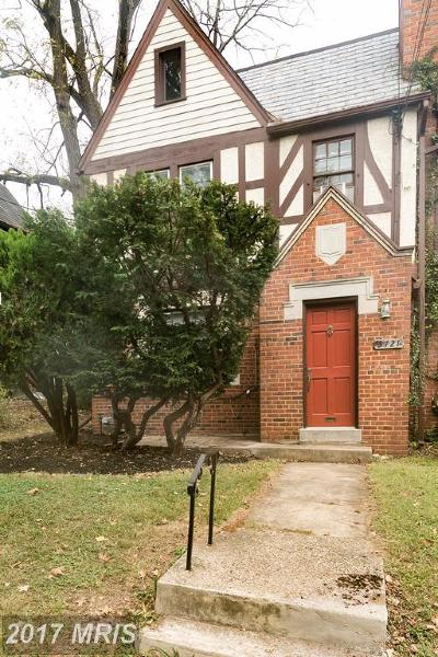 Duplex For Sale: 3721 Windom Place NW
