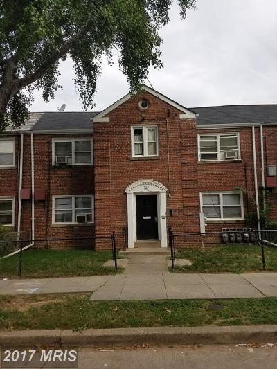 Washington Multi Family Home For Sale: 329 Delafield Place NW