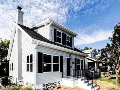 Washington Single Family Home For Sale: 1600 Eastern Avenue NE