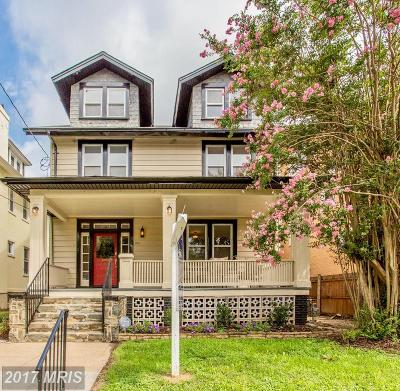 16th Street Heights Single Family Home For Sale: 1211 Farragut Street NW