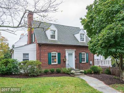 Washington Single Family Home For Sale: 4900 Ashby Street NW