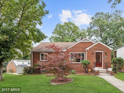 Washington Single Family Home For Sale: 3723 Bangor Street SE